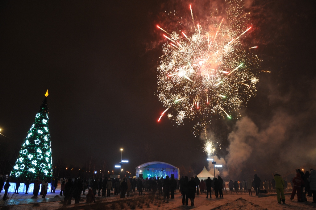 Новогодняя ночь в парке «Садовники» в стиле джаз