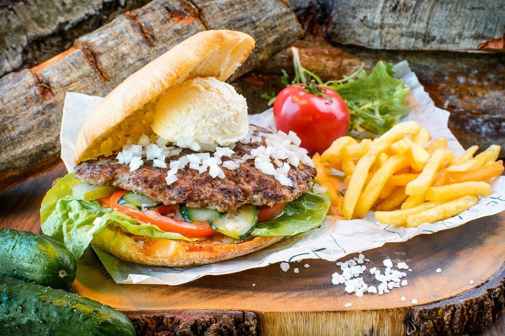 Craft Burger презентовал реальный бургер