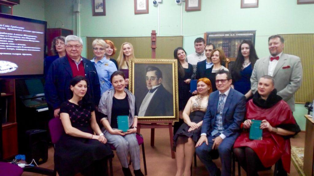 Культурный фонд А.С.Грибоедова впервые проведет Грибоедовский бал в Москве