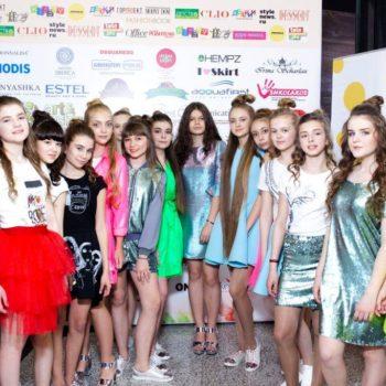 Дизайнер Masha Kraft (в центре) и модели