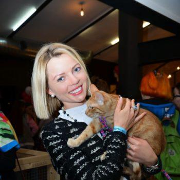 Мария Берсенева, Дарья Повереннова и группа Стрелки нашли дом 35 кошкам!