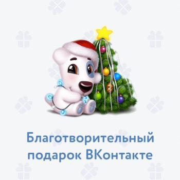 ВКонтакте запустила благотворительный новогодний подарок