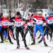 Лыжная гонка «Битцевские тягунки» проекта «Спорт во благо» в зоне отдыха «Битца»