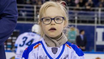 ХК «Лада» собрала 100000 рублей на программы поддержки людей с синдромом Дауна