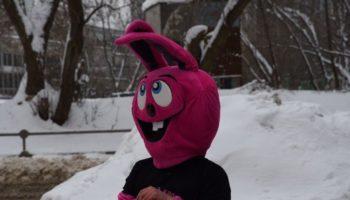 Кролики откопали Москву из-под снега