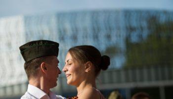 Хастл флешмоб в Парке Горького 9 мая