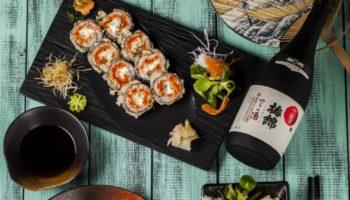 Мастер-класс по приготовлению роллов и дегустация саке