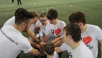 Благотворительный турнир по мини-футболу «Mars и Спорт во благо» в поддержку людей с синдромом Дауна