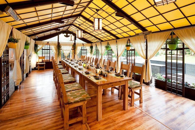 Ресторан «Макото» на Краснопресненской набережной открыл веранду