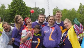 На благотворительном забеге «ЮниКредит Банк и СПОРТ ВО БЛАГО» собрали 2 миллиона рублей в поддержку людей с синдромом Дауна