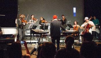 Зеленый театр ВДНХ. Сцена на воде представляет серию концертов «Неоклассики»