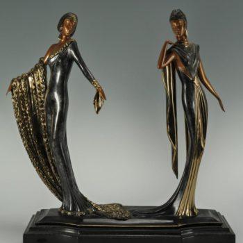 Выставка «Гении Ар-деко. Парижская Мода», работы Эрте и др.