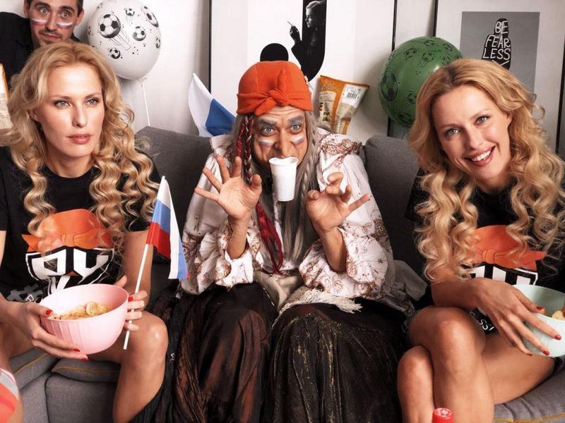 Песня Бабы Яги «Welcome to Russia» стала гимном российских футбольных болельщиков