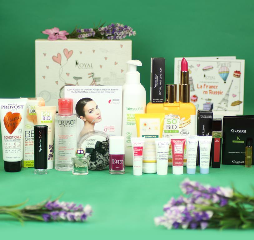 Новые лимитированные beauty boxes Royal Samples