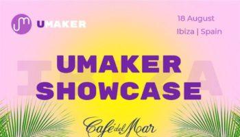 UMAKER шоукейс в Cafe Del Mar на Ибице