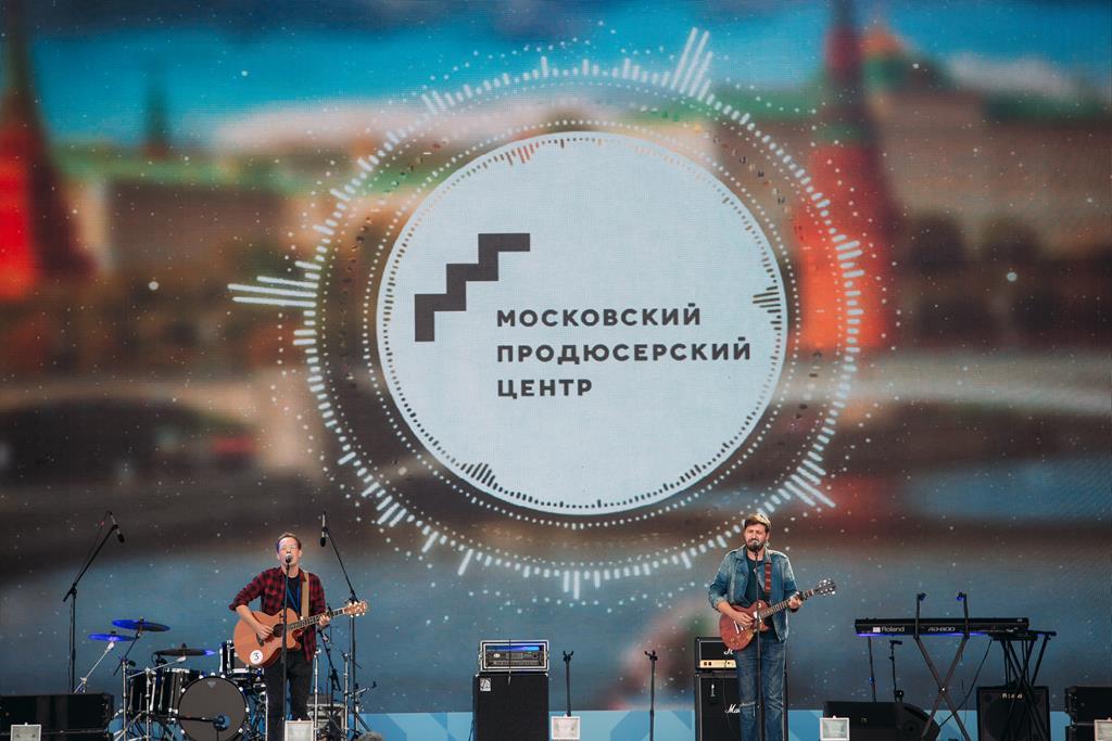Победители проекта «Лайн-Ап#Моспродюсер» поздравили Москву с 871-летием на Поклонной Горе