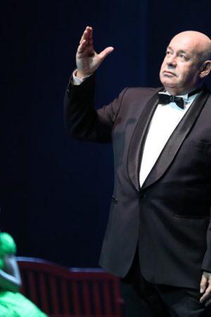 Михаил Швыдкой спел и станцевал на своем юбилее