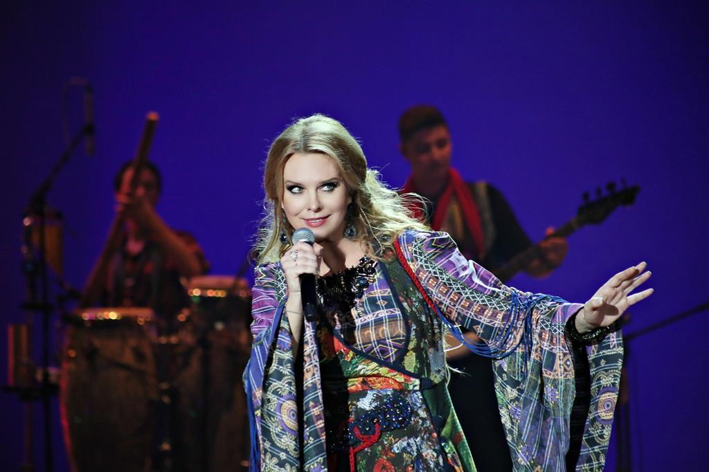 Певица Варвара оживила «Лён» на сцене «Геликон-оперы»