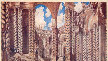 Уникальная экспозиция литографий Леона Бакста будет представлена в Москве
