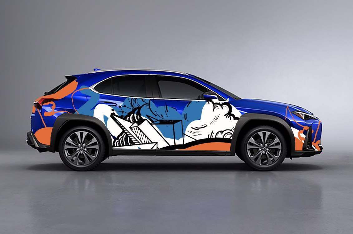 Новый Lexus UX представят в виде арт-экспоната