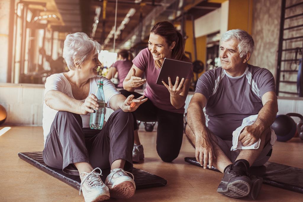 Фитнес в «серебряном» возрасте