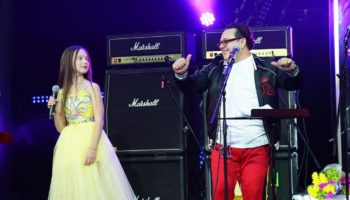 Дочь Саруханова дебютировала на его концерте