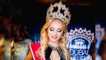 Россиянка покорила Дубай красотой и привезла корону на родину