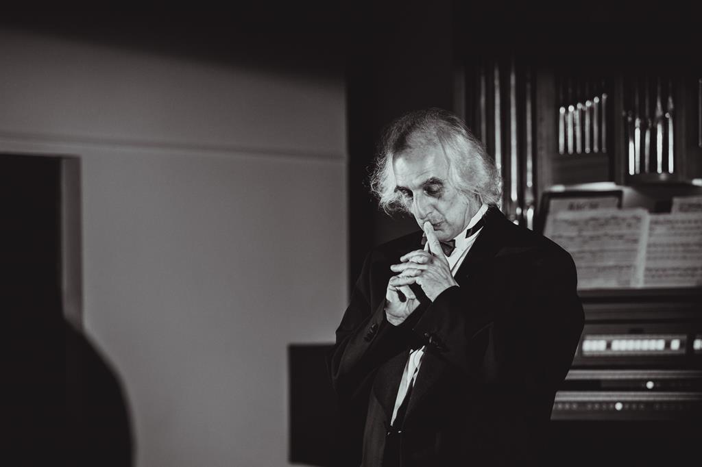 «Величие Баха» лекция-концерт Александра Майкапара в концертном зале Международного союза музыкальных деятелей