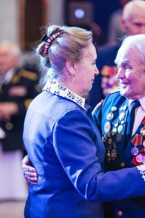 В Москве прошел 13-й «Бал Победителей», посвященный 75-летию полного снятия блокады Ленинграда