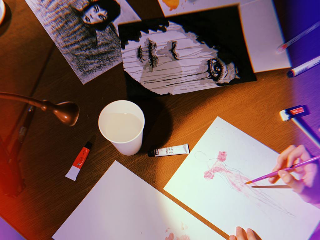 Субботний FashionSketch на МАРСе