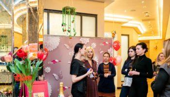 Наталия Лесниковская, Алиса Толкачева и другие на дне рождении салона красоты Else Style