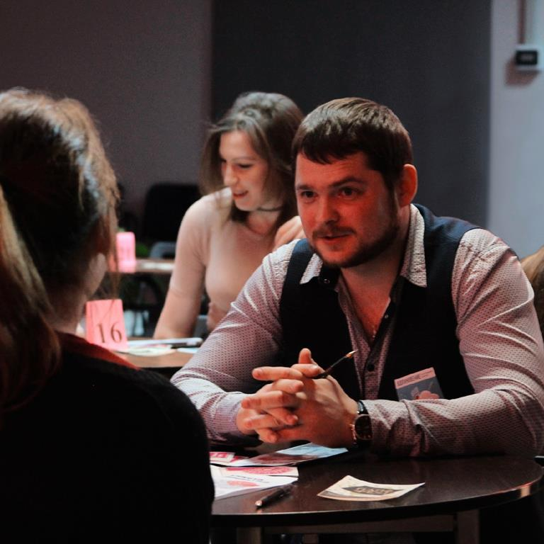 КЦ «Вдохновение» приглашает принять участие в интеллектуальной игре «ЯсенКвиз» и быстрых свиданиях