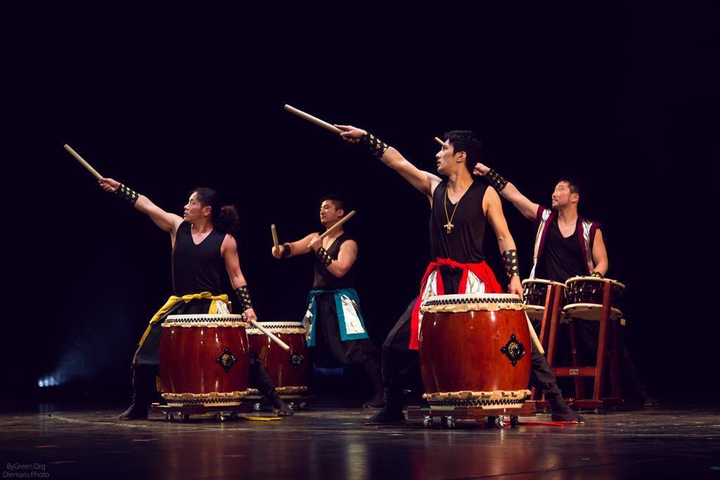 Фестиваль японской культуры Hinode Power Japan в рамках года Японии в России