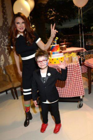 Эвелина и сын Семен