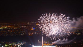 Увидеть все салюты 9 мая с панорамы 89 этажа!