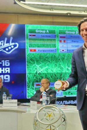 На артистическом чемпионате мира по футболу пришла пора выигрывать России