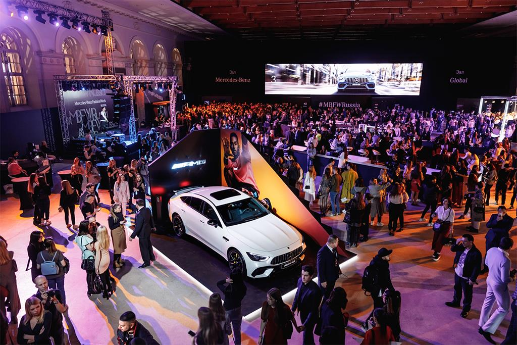 Закрытие 38-го сезона Mercedes-Benz Fashion Week Russia