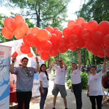 Благотворительный фестиваль «Журавлик лети!» в рамках праздника мороженого