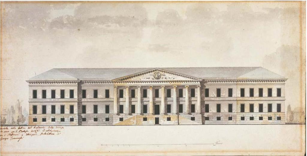 Джакомо Кваренги – архитектор императорского двора