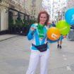 Марафон «бегущие сердца» прошел в Москве