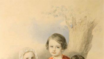 Искусство акварельного портрета