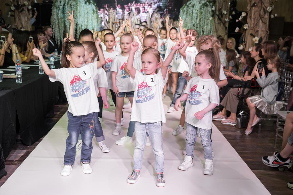 Всероссийский детский модельный фестиваль TOP KIDS FAСES