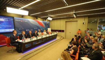 Итоги Международного дня социального бизнеса подвели на пресс-конференции в МИА «Россия сегодня»