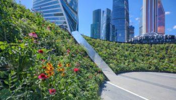 Проекты ведущих мировых ландшафтных дизайнеров украсили Москву