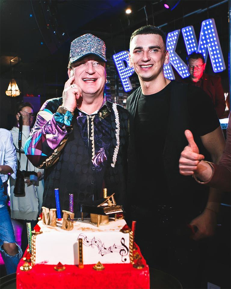 Сергей Пенкин зажег на Дне Рождения своего ученика Максима Бурматова