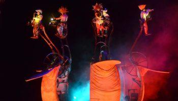 Театр Transe Express впервые представит спектакль «Mù — cinematique des fluides»