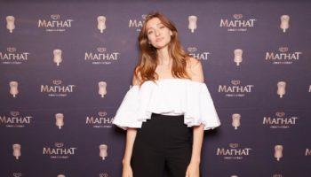 Бессменный амбассадор Магната модель Мария Миногарова угостила поклонников авторским мороженым