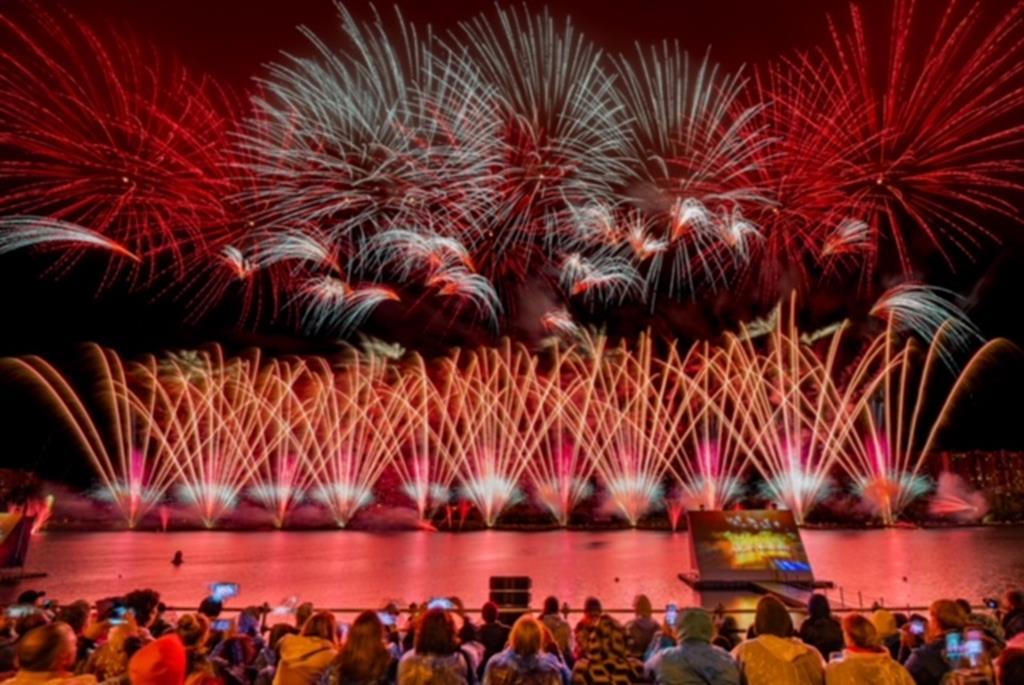 Россия победила на V Международном фестивале фейерверков «Ростех»