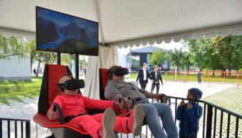 День открытых дверей «Технограда» удивил гостей новейшими VR-аттракционами, научным шоу и концертом звезд «Russian Music Box»