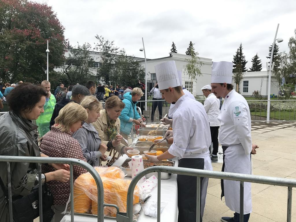 Фестиваль плова в «Технограде»